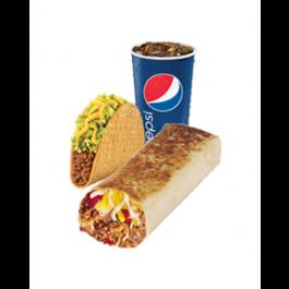 XXL Grilled Stuft Burrito Combo