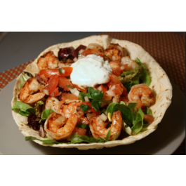 Shrimp Taco Salad (LUNCH)