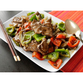 L9. Pepper Steak with Onion (LUNCH)