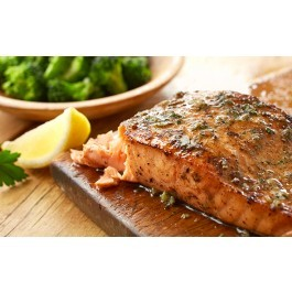 Herb Grilled Salmon Seafood Restaurant Delivery