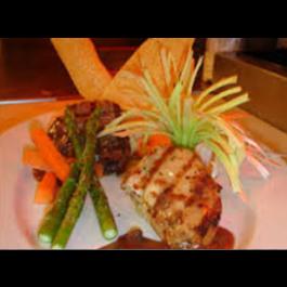 Filet Mignon & Chicken (DINNER)