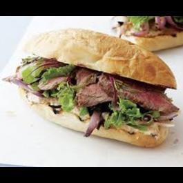 Asada Sandwich (Steak)