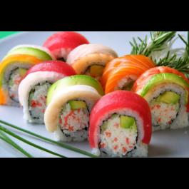 Rainbow Roll (Raw)