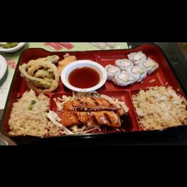 Shrimp Teriyaki Bento Box (LUNCH)