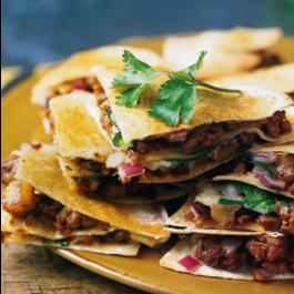 Mex-Sausage/ Chorizo Quesadilla