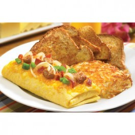 Grilled Chicken Omelette