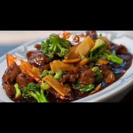 C10. Hunan Beef, Shrimp, Chicken, or Pork