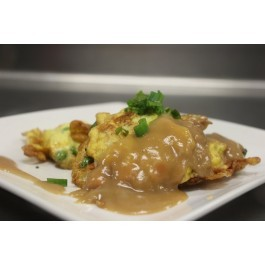 Vegetable Egg Foo Young