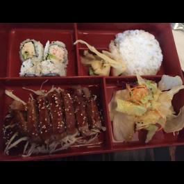 Beef Teriyaki Bento Box (DINNER)