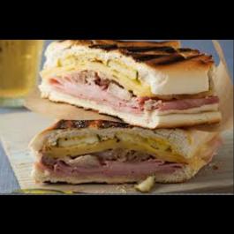 Cubana Sandwich (Pork, Steak, Ham, Cheese)