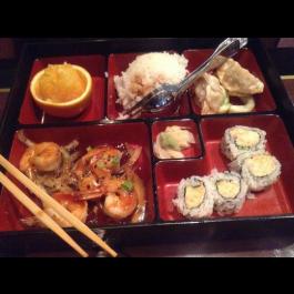 Shrimp Teriyaki Bento Box (DINNER)