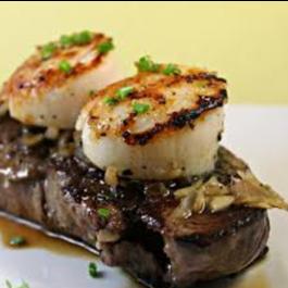 Filet Mignon & Scallop (DINNER)