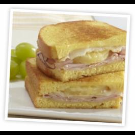 Hawaiian Sandwich (Ham, cheese, pineapple)