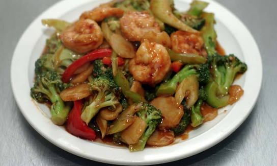 Szechuan Shrimp (Hot & Spicy)