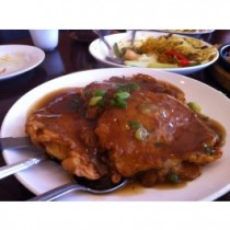 Pork Egg Foo Young