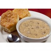 A Cup of Our Famous Sausage Gravy
