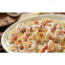 Chicken & Shrimp Carbonara