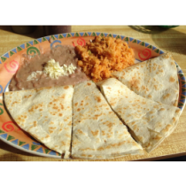 Lunch Combo 10- Quesadilla