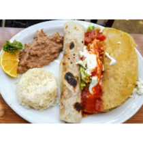 Lunch Combo 5- Burrito and Taco