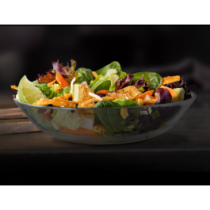 Southwest Buttermilk Crispy Chicken Salad