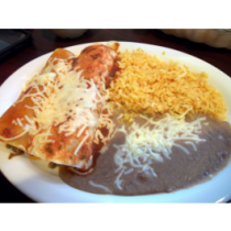 Lunch Combo 6- Fried Burrito