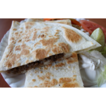 Beef Tongue/ Lengua Quesadilla