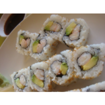 Shrimp Avocado Roll or Hand Roll