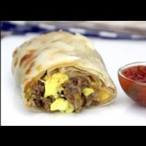 Mex-Sausage/ Chorizo Burrito