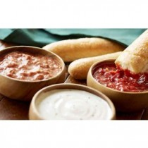Dipping Sauces with 4 Breadsticks