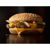 Quarter Pounder with Cheese Burger
