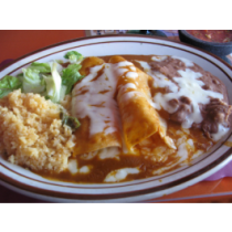 Lunch Combo 3- Enchilada