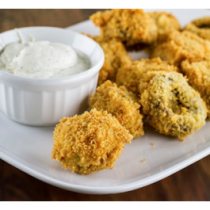 Breaded Mushrooms (appetizer)