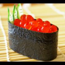 Salmon Roe (Ikura) Sushi or Sashimi