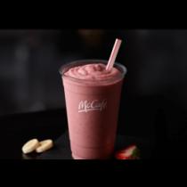 McCafé Strawberry Banana Smoothie