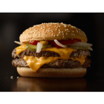 Double Quarter Pounder with Cheese Burger
