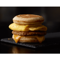 Sausage, Egg & Cheese McGriddles