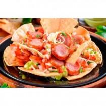 Nachos con Chorizo (APPETIZER)