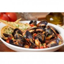 Garlic Mussels Marinara