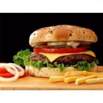 Jumbo Hamburger