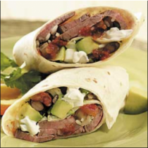 Steak/ Asada Burrito
