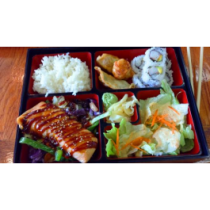 Salmon Teriyaki Bento Box (DINNER)
