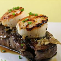 Filet Mignon & Scallop (DINNER)