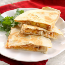 Grill Onion & Pineapple Quesadilla