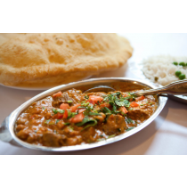 Lamb Choley with Bhatura