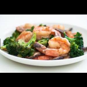 Shrimp w. Broccoli