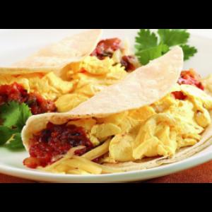 Huevos Con Chorizo (LUNCH)