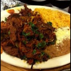 Mex-Sausage Platter