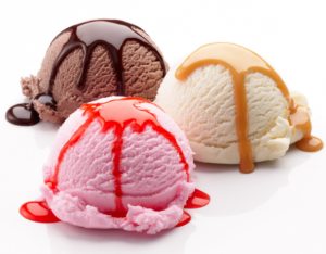 Ice Cream (ask for today's flavors)