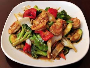 Shrimp w. Chinese Vegetable