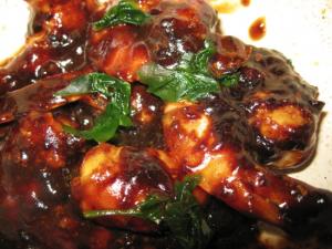 Shrimp w. Black Bean Sauce